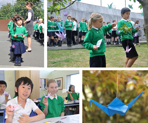 Japan Day at Hall School Wimbledon