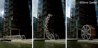 Big Changes in Paddington  and Heatherwick's Rolling Bridge