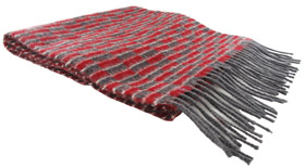 New Routemaster Moquette Design Lambswool Scarf